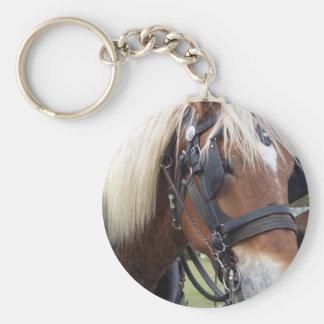 Draft Horse Keychain