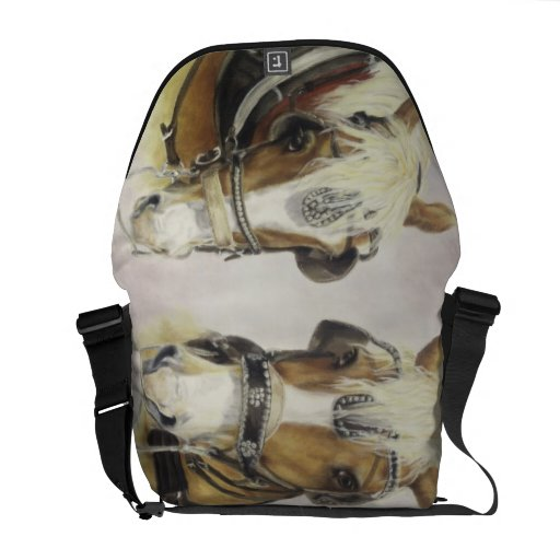 Draft Horse Messenger Bag