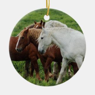 Draft Horse Ornaments