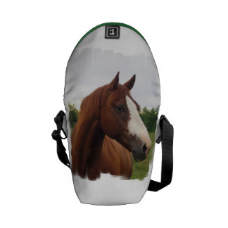 Draft Horse Photo Courier Bag