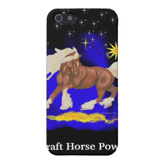 Draft Horse Power Iphone Case