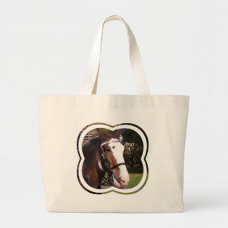 Draft Horse Rescue Canvas Bag