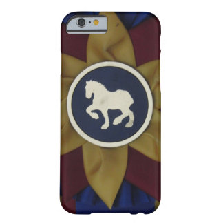 Draft Horse Rosette Barely There iPhone 6 Case