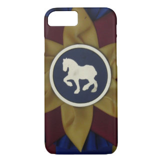 Draft Horse Rosette iPhone 8/7 Case