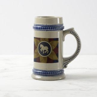 Draft Horse Rosette Mug