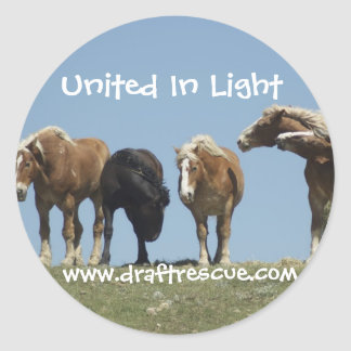 Draft horse Sticker