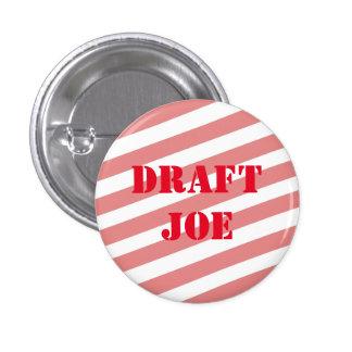 Draft Joe Biden 2016 Pinback Button
