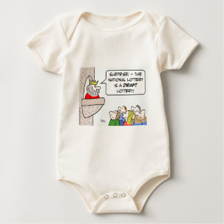draft lottery national king baby bodysuit
