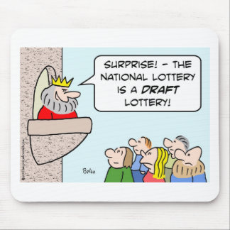 draft lottery national king mouse pad