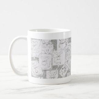 Draft of mouse coffee mug