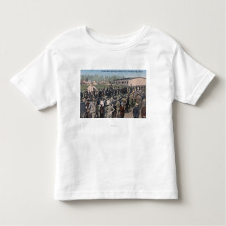Drafted Men Reporting to Camp Lewis Toddler T-shirt