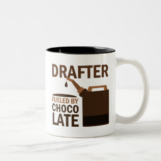 Drafter (Funny) Gift Two-Tone Coffee Mug