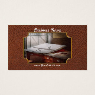 Drafting - Before computers existed Business Card