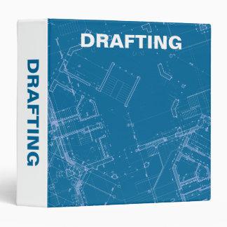 Drafting Blueprints 3 Ring Binder
