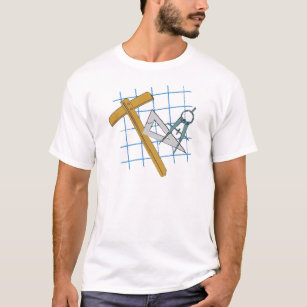 Blueprint designs clothing apparel zazzle drafting design tools t shirt malvernweather Choice Image