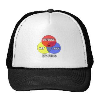 Drafting .. Science Art Luck Trucker Hat