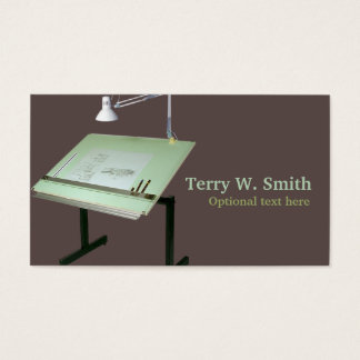 Drafting Table Business Card