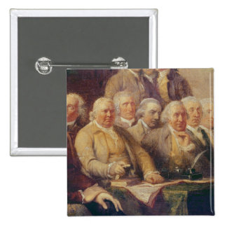 Drafting the Declaration of Independence Button
