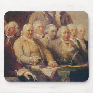 Drafting the Declaration of Independence Mouse Pad