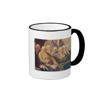Drafting the Declaration of Independence Coffee Mugs