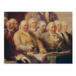 Drafting the Declaration of Independence Post Card