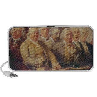 Drafting the Declaration of Independence iPod Speaker