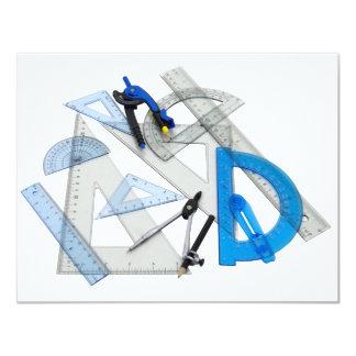"""DraftingTools071809 Invitación 4.25"""" X 5.5"""""""
