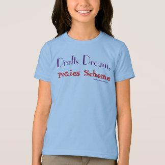 Drafts Dream, Ponies Scheme T-Shirt