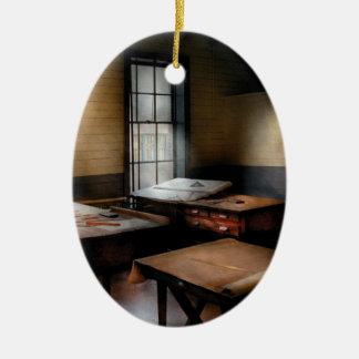 Draftsman - The Drafting room Ceramic Ornament