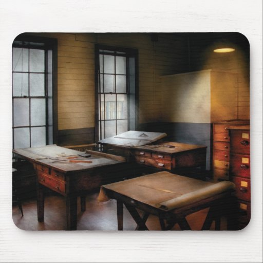 Draftsman - The Drafting room Mouse Pad