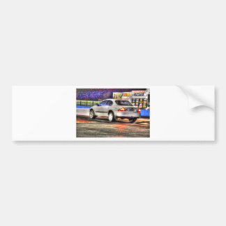 DRAG CAR AUSTRALIA ART EFFECTS CAR BUMPER STICKER