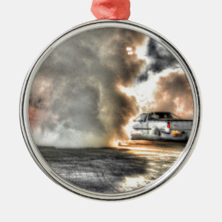 DRAG CAR RURAL QUEENSLAND AUSTRALIA ART EFFECTS METAL ORNAMENT