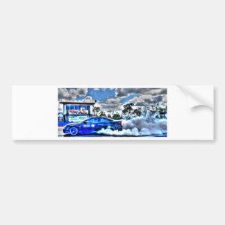 DRAG CAR RURAL QUEENSLAND AUSTRALIA BUMPER STICKER