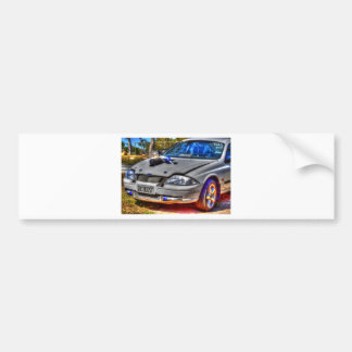 DRAG CAR RURAL QUEENSLAND AUSTRALIA CAR BUMPER STICKER