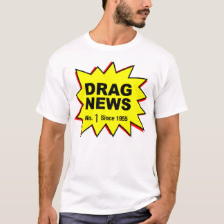 Drag News Vintage Logo T-Shirt
