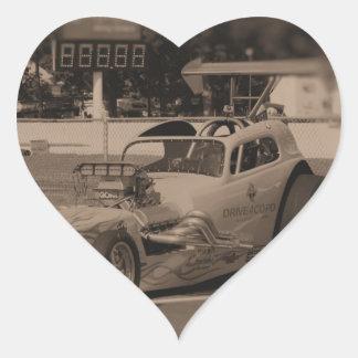 drag photo zazzle1.jpg heart sticker