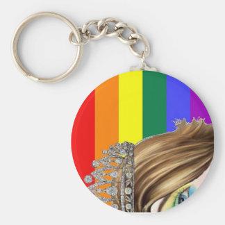 Drag Pride Keychain