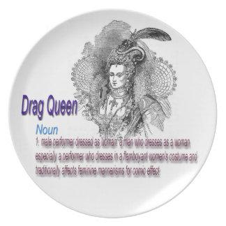 Drag Queen Dinner Plate