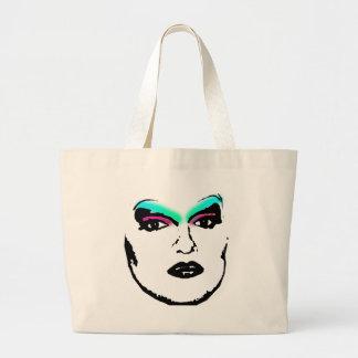 drag queen jumbo tote bag
