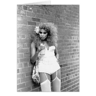 Drag Queen NYC. 1989 Card