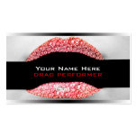 Drag Queen Red Diamond Bling Business Cards