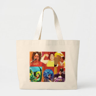 Drag Queens Large Tote Bag