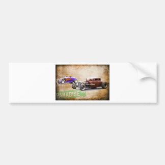 Drag Race Bumper Sticker