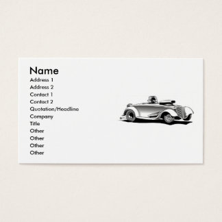 Drag Race Car Business Cards
