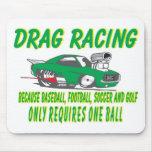 drag racing 1 mouse pads