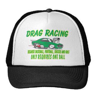 drag racing 1 trucker hat