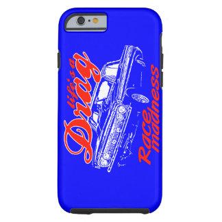 Drag racing tough iPhone 6 case