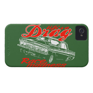 Drag racing iPhone 4 cover