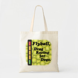 Drag Racing for Dogs Budget Tote