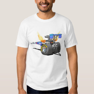 Drag Racing Top Fuel Dragster Caricature